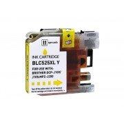Compatible brother lc525xl amarillo cartucho de tinta  BI-LC525XLYL