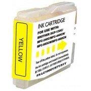 Compatible bulk_brother lc1000xl/lc970xl amarillo cartucho de tinta  BULK-LC1000XLYL