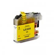 Compatible bulk_brother lc225xl v2/v3 amarillo cartucho de tinta  BULK-LC225XLYL