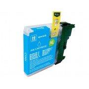 Compatible bulk_brother lc980xl/lc1100xl/lc985xl cyan cartucho de tinta  BULK-LC980XLCY