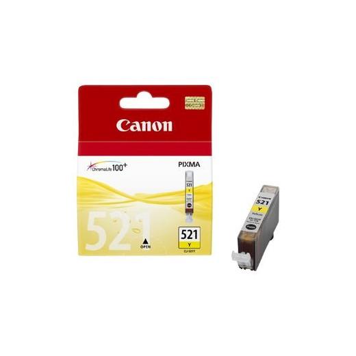 Original canon cli521 amarillo cartucho de tinta  2936B001