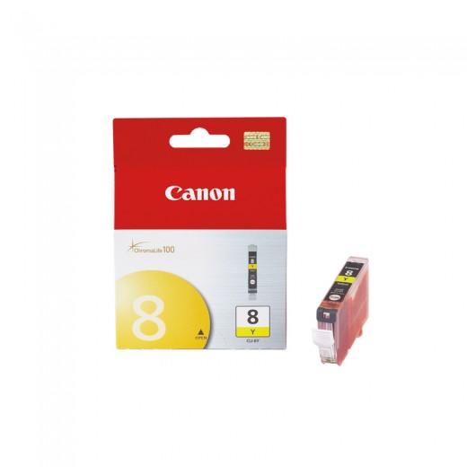 Original canon cli8 amarillo cartucho de tinta  0623B001