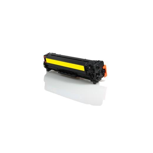 Compatible hp cf542x/cf542a amarillo cartucho de toner  CT-054HYL