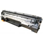 Compatible hp cb435a/cb436a negro cartucho de toner