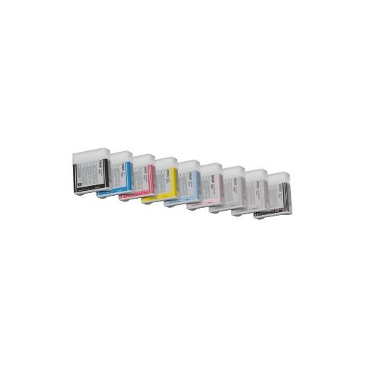 Compatible epson t603900 negro light light cartucho de tinta pigmentada  EI-T6039(PG)