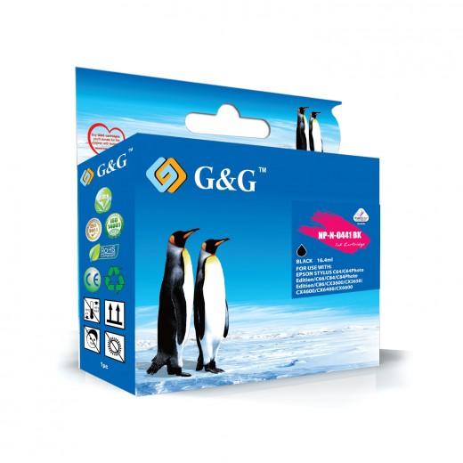 Compatible g&g epson t0441 negro cartucho de tinta pigmentada  NP-N-0441BK(PG)