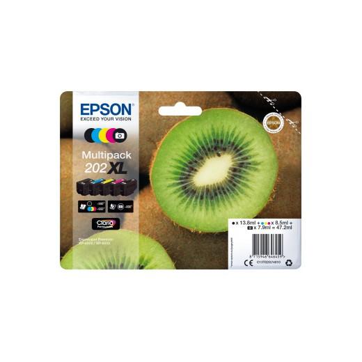 Original epson t02g7 (202xl) multipack  C13T02G74010