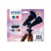 Original epson 502 pack de 4 cartuchos de tinta  C13T02V64010