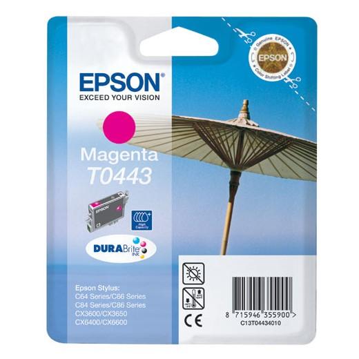 Original epson t0443 magenta cartucho de tinta  C13T04434010