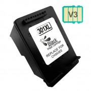 Compatible hp 301xl v3 negro cartucho de tinta  HI-301XLBK