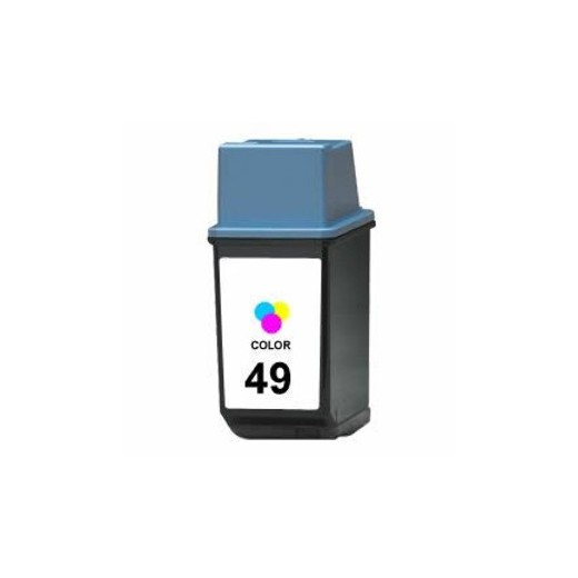 Remanufacturado hp 49 tricolor cartucho de tinta  HI-49