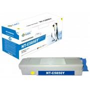 Compatible g&g oki c5850/c5950/mc560 amarillo cartucho de toner  NT-COC5850Y