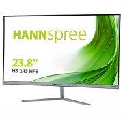 Hannspree monitor led 23.8 pulgadas 1080p fullhd - respuesta 5ms - 16:9 - angulo de vision 178º - altavoces 2w - hdmi