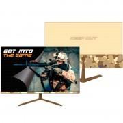 Keep out monitor gaming led 23.8 pulgadas - diseño camuflaje army - full hd 1080p - 16:9 - angulo de vision 178º - altavoces tr