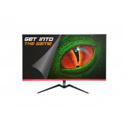 Keepout monitor gaming led 32 pulgadas - 2k qhd 1440p - 16:9 - angulo de vision 178º - altavoces traseros 3w - respuesta 1ms -