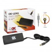 Oktech ok-le90 cargador especifico para portatil lenovo 90w (20v 4.5a / 7.9 mm*5.5 mm)
