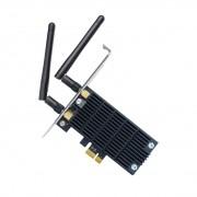 Tp-link tarjeta de red pci express inalambrico de doble banda ac1300 - wifi 802.11ac - 867mbps 5ghz/400mbps 2.4ghz - 2 antenas