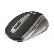 Trust raton inalambrico usb 1000dpi easyclick 5 botones negro/gris