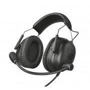 Trust gaming gxt 444 wayman pro auriculares con microfono - microfono plegable - diadema ajustable - amplias almohadillas - alt