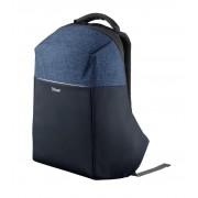Trust 23307 mochila antirrobo para portatiles 16 pulgadas nox azul