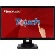 Viewsonic monitor led 22 pulgadas full hd 1080p - pantalla tactil - respuesta 5ms - angulo de vision 170º - usb