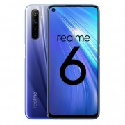 Realme 6 smartphone 6.5 pulgadas fullhd+ - 8gb - 128gb - mediatek helio g90 t - camara cuadruple 64mp - carga rapida 30w - 2x s