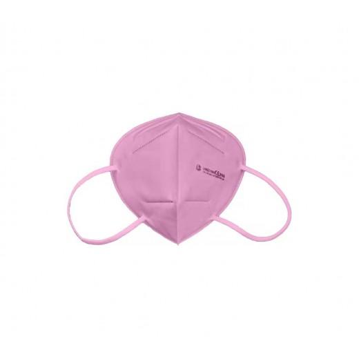 Langci mascarilla ffp2 - clip nasal ajustable - certificacion ce/2163 - en 149:2001+a1:2009 ffp2 nr - color rosa