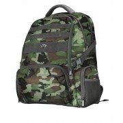 Trust gaming gxt 1250g hunter mochila para portatil hasta 17.3 pulgadas - 5 compartimentos - 2 bolsillos laterales - bolsillo o