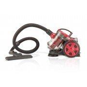 Q7 pure aspirador ciclonico trineo 700w - filtro hepa - capacidad deposito 2l - sin bolsa - color rojo