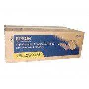 Original epson aculaser c2800 amarillo cartucho de toner  C13S051158