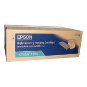 Original epson aculaser c2800 cyan cartucho de toner  C13S051160