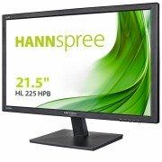 Hannspree monitor led 21.5 pulgadas 1080p full hd - 16:9 - angulo de vision 176º - respuesta 5ms - hdmi