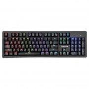 Scorpion kg916 teclado mecanico gaming usb - teclas outemu blue - retroiluminacion rgb - antighosting - cable trenzado de 1.60m