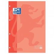 Recambio de cuaderno oxford classic 400121584/ a4-a4+/ 80 hojas/ melocotón