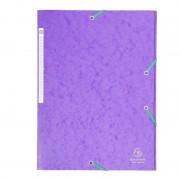 Carpeta exaclair exa17115h/ a4 240 x 320mm/ violeta