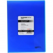 Carpeta con 40 fundas grafoplás 01441830/ folio/ azul