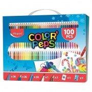 Kit de colorear maped color'peps 907003/ 100 unidades/ contenido surtido