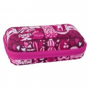 Kit 2 estuches portatodo milan hey girl/ 135 x 215 x 65mm/ rosa
