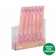 Marcador doble punta fluorescente apli candy/ rosa