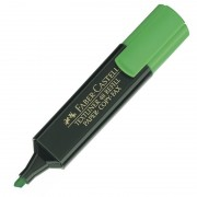 Marcador fluorescente faber castel 09154863/ verde