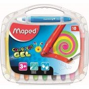 Lápices de gel maped color'peps 836310/ acuarelables/ 10 unidades/ colores vivos