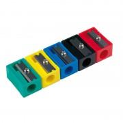 Sacapuntas de plástico milan 20120320/ colores surtidos