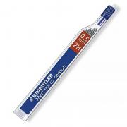 Minas staedtler mars micro carbon/ 2h/ 0.5mm/ 12 unidades