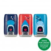 Afilaborra milan compact shark attack/ doble / colores surtidos
