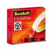 Cinta adhesiva transparente 3m scotch crystal/ 1.9cm x 33m