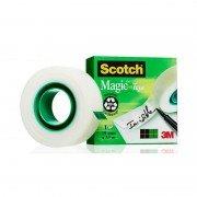 Cinta adhesiva transparente 3m invisible scotch magic/ 1.9cm x 33m