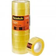 Cinta adhesiva transparente 3m scotch 508/ 1.9cm x 33m/ 8 unidades