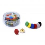 Chinchetas apli 11733/ 50 unidades/ colores surtidos