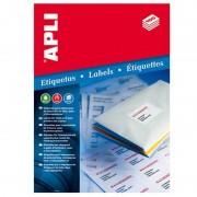 Etiquetas adhesivas apli 1273/ 70 x 37mm/ 100 hojas
