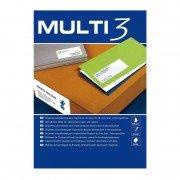 Etiquetas adhesivas apli multi3/ 210 x 297mm/ 100 hojas